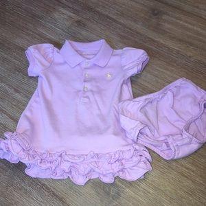 Ralph Lauren Dress with Matching Bloomers